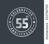 fifty anniversary celebration... | Shutterstock .eps vector #522700705