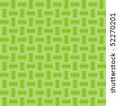 green pattern from geometrical... | Shutterstock .eps vector #52270201