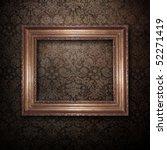 Golden Frame Over Vintage...