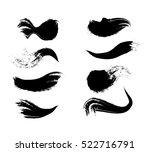 brush strokes vector | Shutterstock .eps vector #522716791