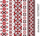 traditional romanian folk art... | Shutterstock .eps vector #522730027