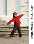 active beautiful joyful little... | Shutterstock . vector #52273039