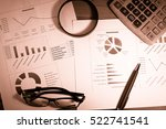 personal financial planning... | Shutterstock . vector #522741541