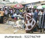 Small photo of JUBA, SOUTH SUDAN - FEBRUARY 28: Unidentified women argue at Konyo Konyo Market, Juba, South Sudan, February 28, 2012. Market is contained in insanitary conditions, although it's the biggest in Juba.
