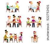 collection of people for the... | Shutterstock .eps vector #522752431