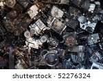 old engine parts | Shutterstock . vector #52276324