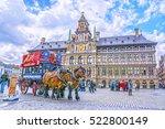 antwerp  belgium april 20  2016 ... | Shutterstock . vector #522800149