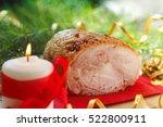 Celebratory Food. Baked Meat...