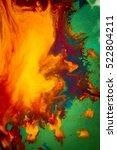 whirlwind vortex spreads... | Shutterstock . vector #522804211