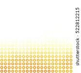 orange donuts background ...   Shutterstock .eps vector #522812215