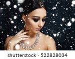 people  luxury  jewelry and... | Shutterstock . vector #522828034