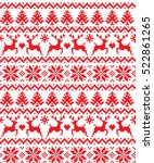 new year's christmas pattern... | Shutterstock .eps vector #522861265