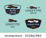 logo for firms engaged in auto... | Shutterstock .eps vector #522861985