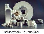car parts | Shutterstock . vector #522862321