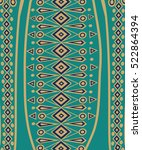 ethnic abstract bright pattern... | Shutterstock .eps vector #522864394