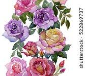 arrangement of multicolored... | Shutterstock . vector #522869737