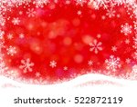 abstract winter background... | Shutterstock . vector #522872119