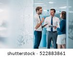 group of successful... | Shutterstock . vector #522883861