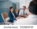 group of successful... | Shutterstock . vector #522883939