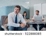 focused mature businessman deep ... | Shutterstock . vector #522888385