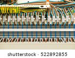 electric cable connected on... | Shutterstock . vector #522892855