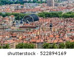 the panoramic aerial view at... | Shutterstock . vector #522894169