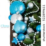 Turquoise And Silver Christmas...