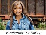 close up of an african american ...   Shutterstock . vector #52290529