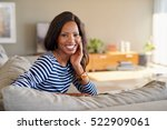 portrait of an attractive young ... | Shutterstock . vector #522909061