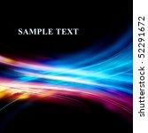 wave energy in the black.... | Shutterstock . vector #52291672