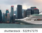 Small photo of HONG KONG, MARCH 22, 2012: Large cruise ship Sea Princess (former Adonia) entering Victoria Harbour, Hong Kong. The vessel operated by the Princess Cruises line has been launched in 1998.