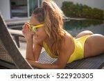 beautiful healthy sexy woman... | Shutterstock . vector #522920305