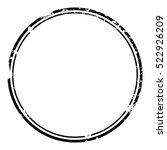 grunge stamp draft mockups of... | Shutterstock .eps vector #522926209