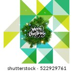 christmas design and elements... | Shutterstock .eps vector #522929761