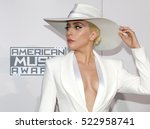 lady gaga at the 2016 american... | Shutterstock . vector #522958741