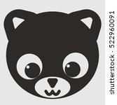 animal cartoon character. cat.... | Shutterstock .eps vector #522960091