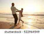 full length shot of romantic... | Shutterstock . vector #522964549