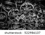 old machine parts in second...   Shutterstock . vector #522986137