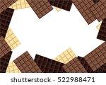 chocolate background   Shutterstock .eps vector #522988471