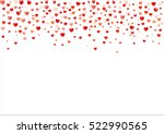 colorful background with heart... | Shutterstock .eps vector #522990565