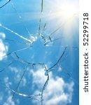 glass  broken | Shutterstock . vector #52299718