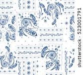 Hand Drawn Paisley Pattern....