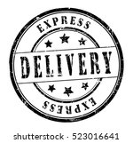 "rubber stamp with text ""express ... 