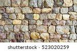 Exterior Rock Wall Decoration...