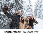 man hold smart phone camera... | Shutterstock . vector #523026799