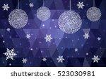 Dark Purple Christmas Postcard...