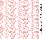 folkloric batik vector ornament....   Shutterstock .eps vector #523051861