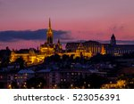Budapest Cityscape With The...