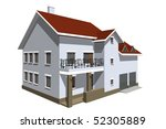 the house | Shutterstock . vector #52305889