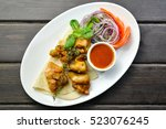 Roasted Chicken Kebab With...